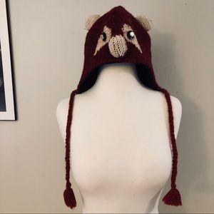 Knit Fox Hat 🦊